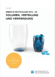 3,1 Billionen Euro werden bis 2024 in Deutschland vererbt