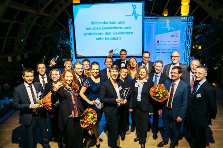 Deutscher bAV-Preis 2016