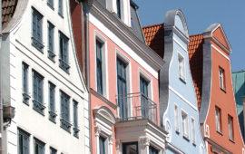 Stadtansicht von Rostock