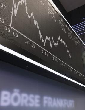 Börse Frankfurt DAX-Anzeige