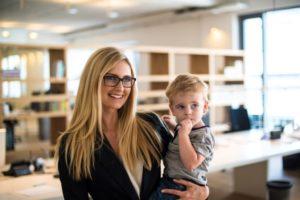 Mütter können weniger Vermögen aufbauen