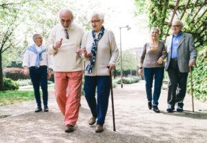 Ältere leben immer länger