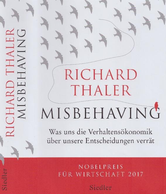 Richard Thaler Verhaltensökonomik