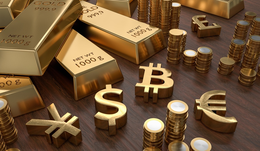 Reichtum weltweit Gold