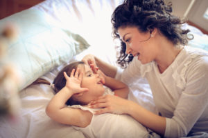 Alleinerziehende Mütter sind besonders armutsgefährdet