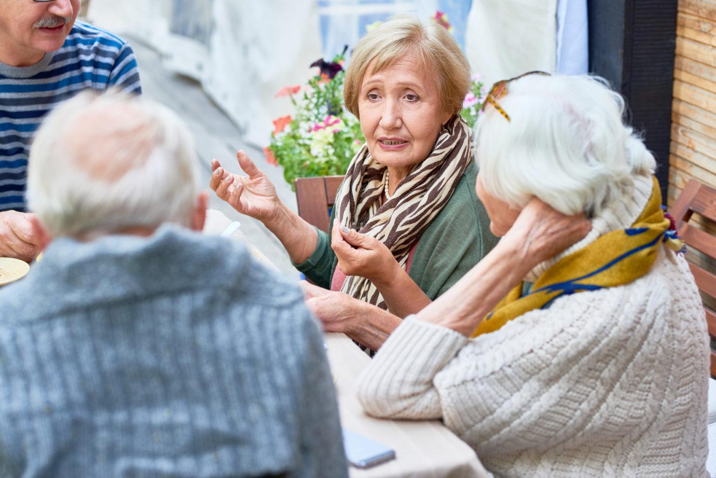 Immer mehr Senioren in Deutschland