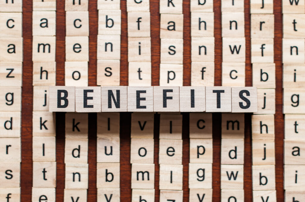 Benefits und Versorgung