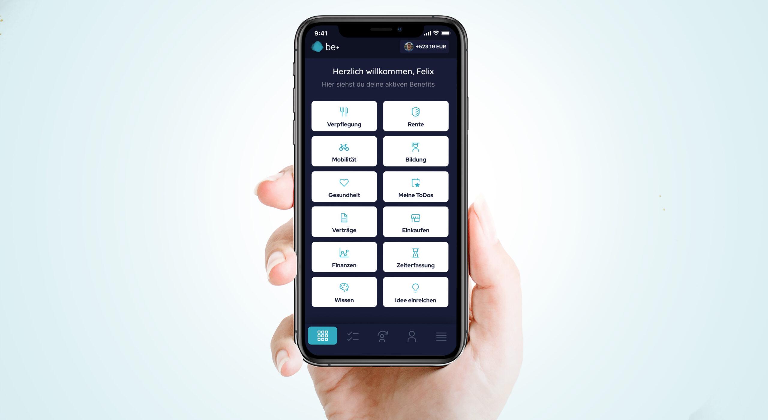 App für Benefits
