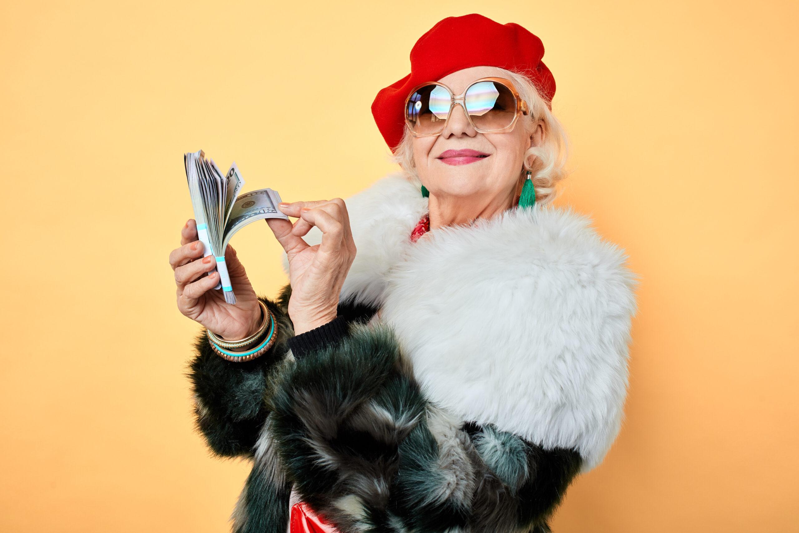 Geld macht im Alter glücklicher